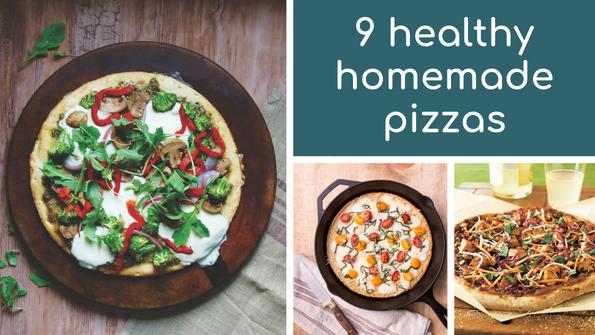 9 healthy homemade pizzas
