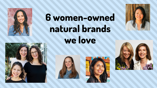 6 women-owned natural brands we love
