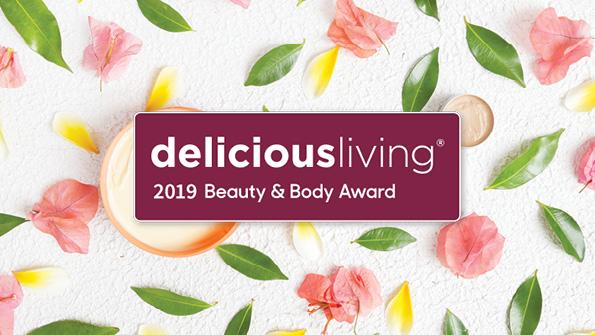 Delicious Living's 2019 Beauty & Body Award Winners
