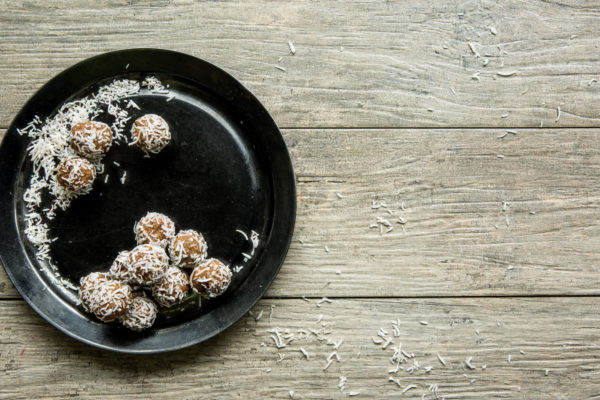 Sweet Potato-Oat Energy Bites