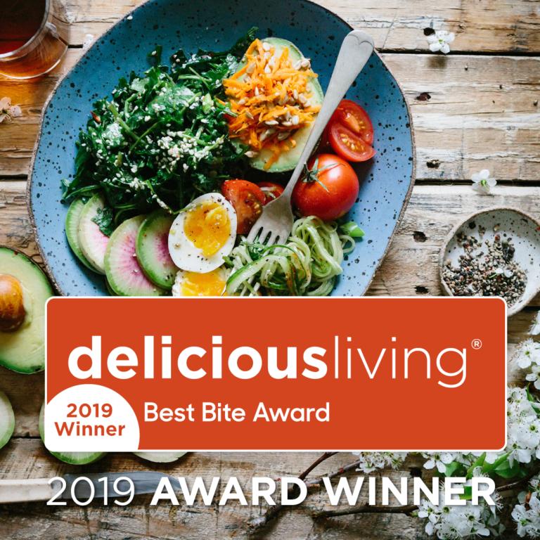 <em>delicious living</em>'s 2019 Best Bite Award Winners
