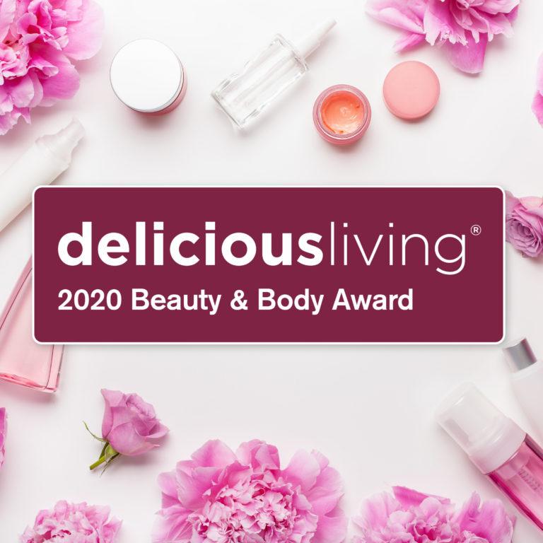 <em>delicious living</em>'s 2020 Beauty & Body Award Winners