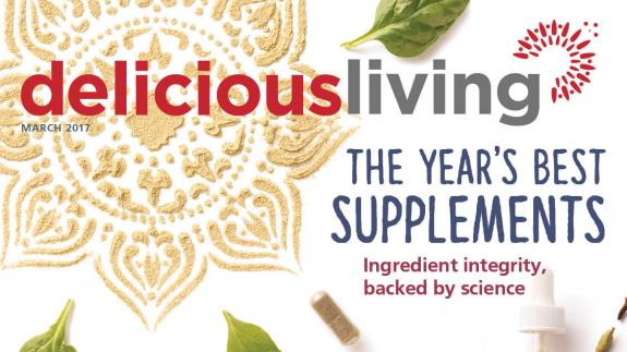 Delicious Living March 2017