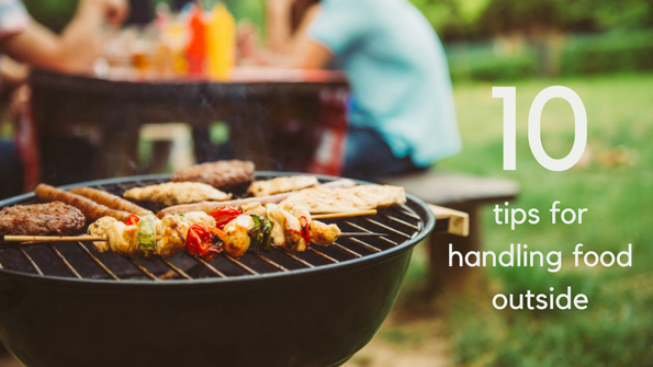 Your best barbecue: 10 tips for handling food outside