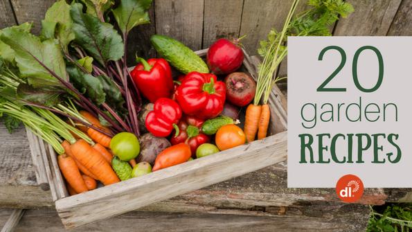 20 healthy home-garden recipes