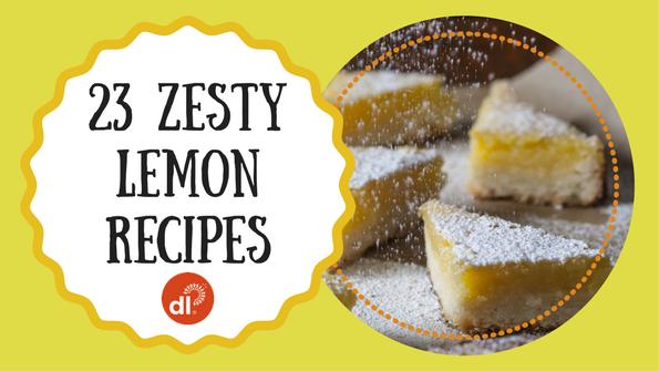 23 zesty lemon recipes