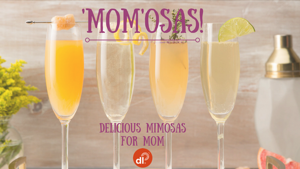 4 delicious mimosas (and 'mockmosas') to make for Mom