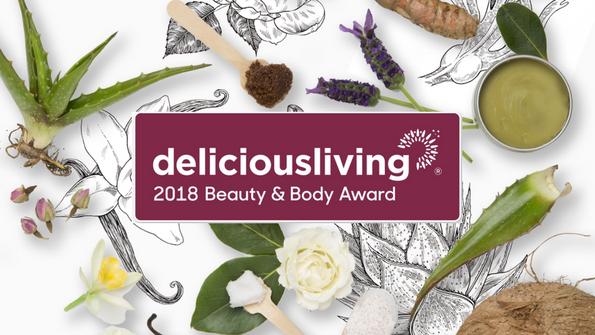 Delicious Living's 2018 Beauty & Body Award Winners