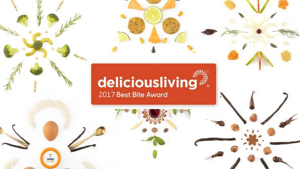Delicious Living's 2017 Best Bite Awards