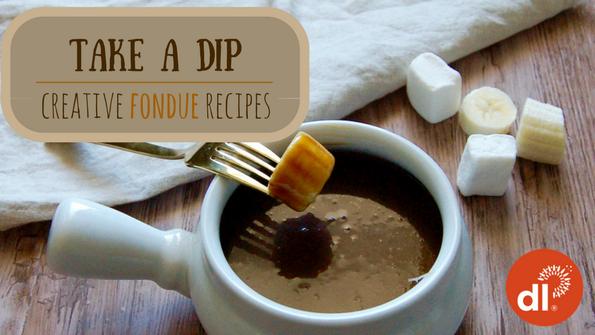 Creative fondue recipes