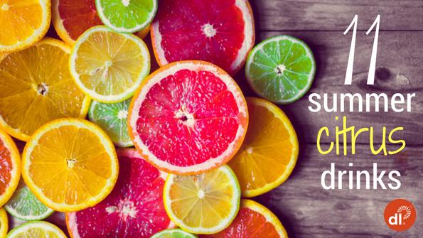 11 summer citrus drinks
