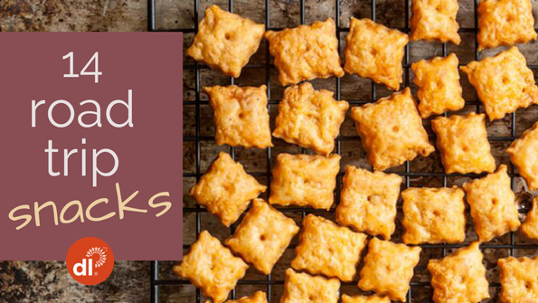 14 homemade snacks to take on the road