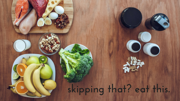 Skipping that food? Here are 6 ways to balance your nutrition