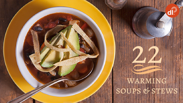 22 warming soups & stews for the winter months