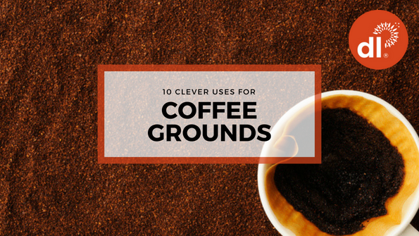10 clever uses for coffee grounds