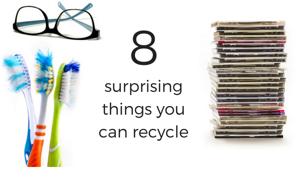 8 surprising things you can recycle