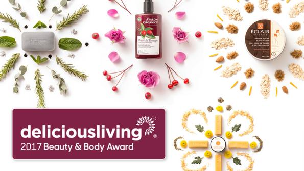 Delicious Living's 2017 Beauty & Body Award Winners