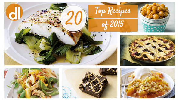 Top 20 Delicious Living recipes of 2015