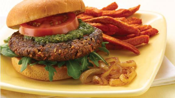 3 DIY veggie burgers