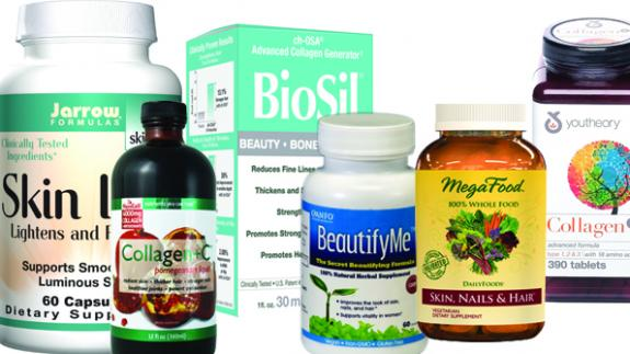 6 top beauty supplements for your skin