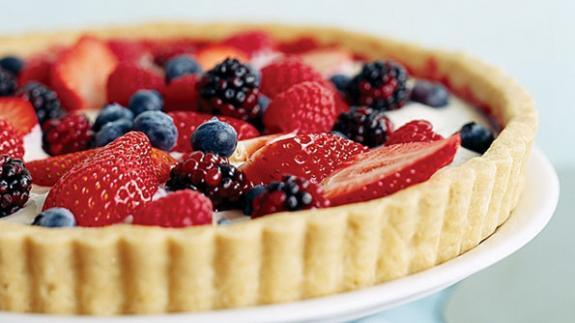 7 healthy summer fruit tarts