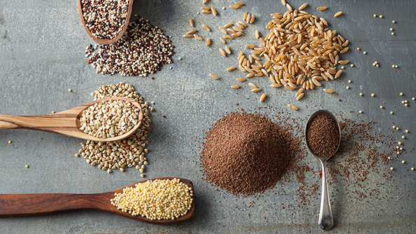 Giving ancient grains a new look