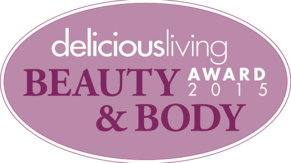 Delicious Living's 2015 Beauty & Body Awards Winners