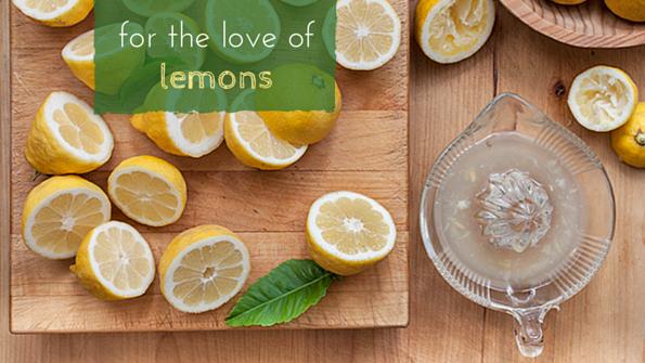 4 lemon-centric recipes for spring