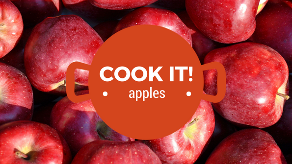 Cook it! Juicy apples