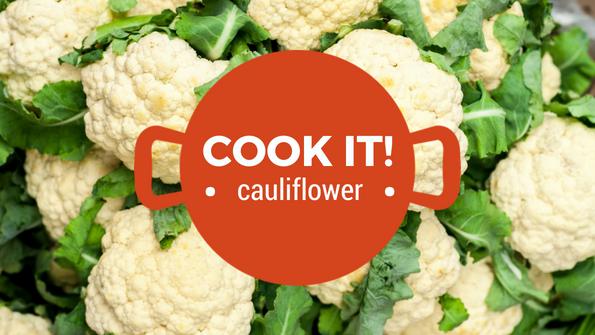 Cook it! Cauliflower