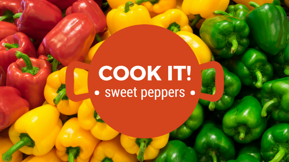 Cook it! Sweet peppers