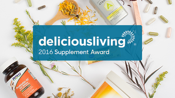 Delicious Living's 2016 Supplement Awards