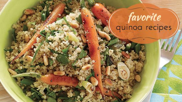 16 vegetarian quinoa recipes