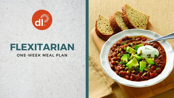 One-week flexitarian meal plan