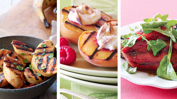 6 mouthwatering grilled fruit recipes