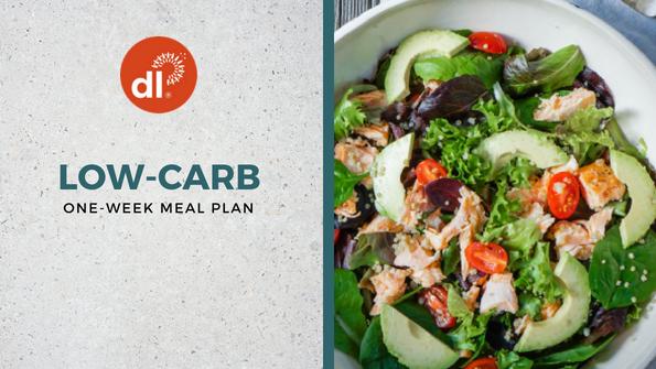 One-week low-carb meal plan