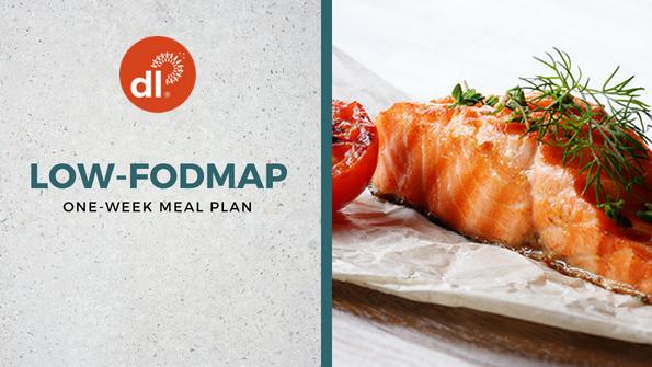 One-week low-FODMAP meal plan