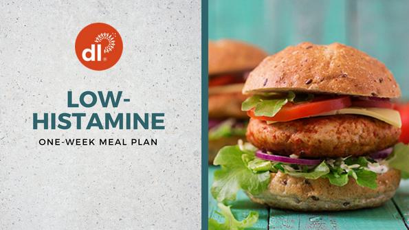 One-week low-histamine meal plan