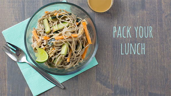 4 healthy, packable lunches for life on the go