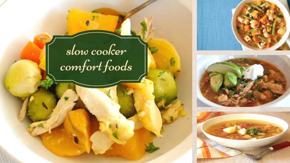 Healthy slow-cooker comfort foods