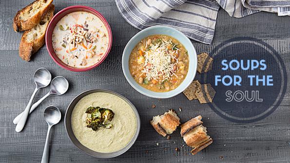 5 heart-healthy winter soups