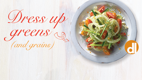 5 spring salads to welcome the season