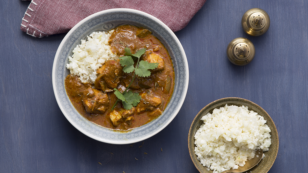 Indian (No) Butter Slow-Cooker Chicken