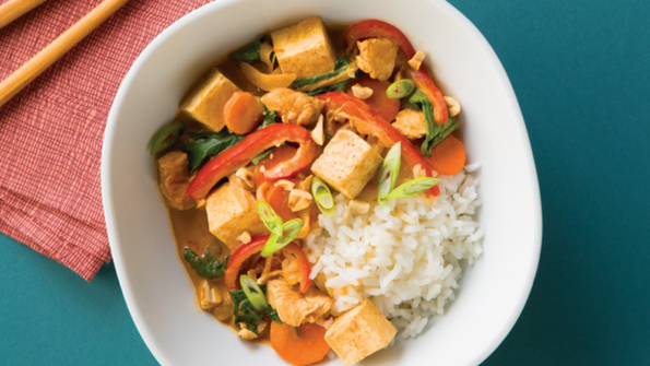 Thai Coconut Curry Chicken And Tofu Delicious Living